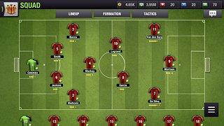 Top Eleven 2018 - Be a Football Manager - snímek obrazovky