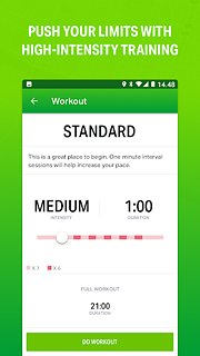 Endomondo - Running & Walking - snímek obrazovky