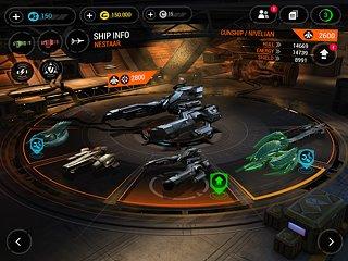 Galaxy on Fire 3 - Manticore - snímek obrazovky