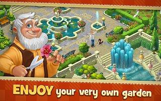Gardenscapes - New Acres - snímek obrazovky