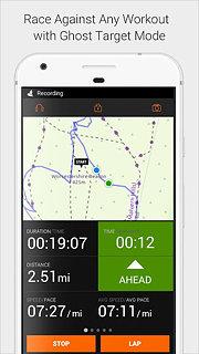 Sports Tracker Running Cycling - snímek obrazovky
