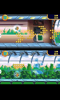 Jetpack Hamster - snímek obrazovky