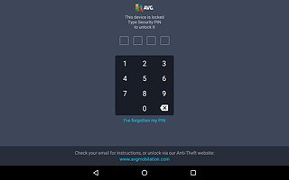 AVG AntiVirus FREE for Android Security 2017 - snímek obrazovky