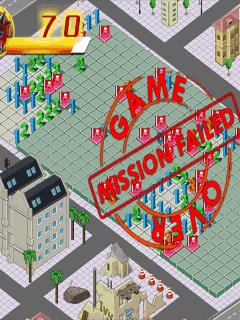 City Under Seize - snímek obrazovky