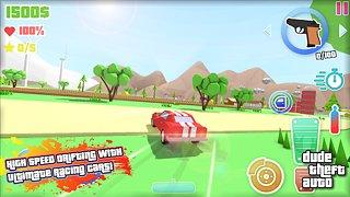 Dude Theft Auto: Open World Sandbox Simulator BETA - snímek obrazovky