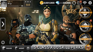 Combat Squad - snímek obrazovky