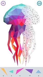 Color by Number - Poly Art - snímek obrazovky