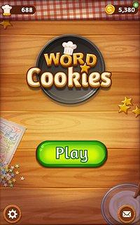 Word Cookies - snímek obrazovky