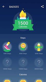 Step Counter - Pedometer Free & Calorie Counter - snímek obrazovky