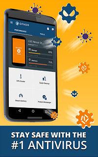 DFNDR - Privacy & Boost - snímek obrazovky
