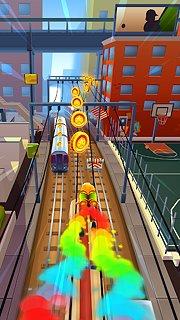 Subway Surfers - snímek obrazovky