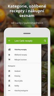 Low Carb recepty z Paleosnadno - snímek obrazovky