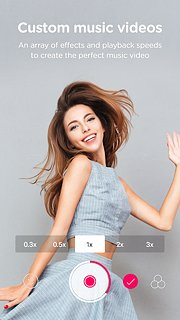 B612 - snímek obrazovky