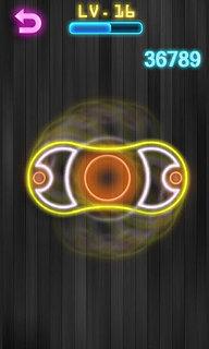 Fidget Spinner - snímek obrazovky