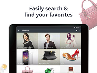 AliExpress Shopping App - snímek obrazovky