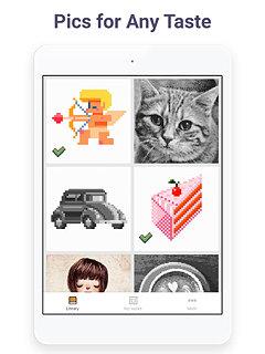 Pixel Art - Colour by Number Book - snímek obrazovky
