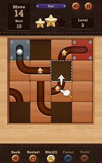 Roll the Ball® - slide puzzle - snímek obrazovky