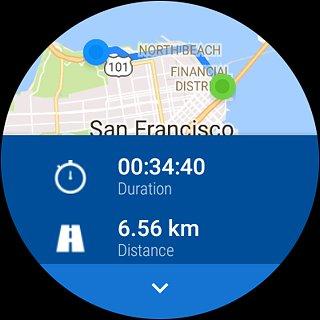Runtastic Running Distance & Fitness Tracker - snímek obrazovky