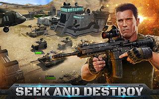 Mobile Strike - snímek obrazovky