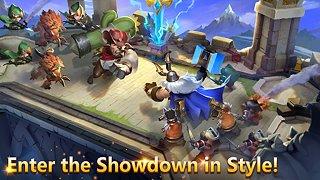 Castle Clash - snímek obrazovky