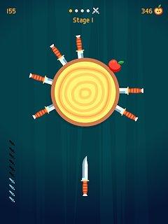 Knife Hit - snímek obrazovky