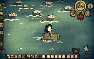 Don't Starve: Shipwrecked - snímek obrazovky