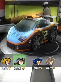 Table Top Racing - snímek obrazovky