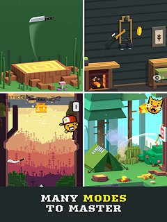 Flippy Knife - snímek obrazovky