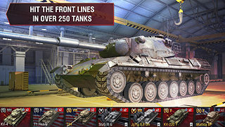 World of Tanks Blitz - snímek obrazovky