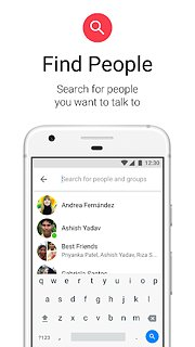 Messenger Lite - snímek obrazovky