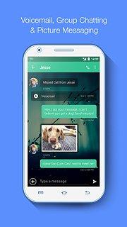 TextNow - free text + calls - snímek obrazovky