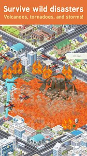 Pocket City - snímek obrazovky