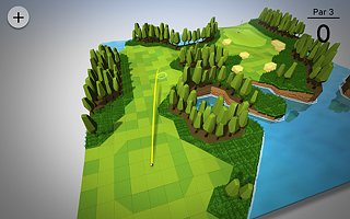 OK Golf - snímek obrazovky
