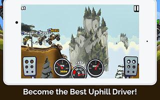 Hill Climb Racing 2 - snímek obrazovky