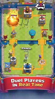 Clash Royale - snímek obrazovky