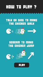 Chicken Scream - snímek obrazovky