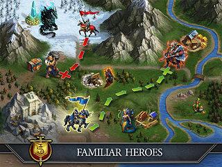 Gods and Glory - snímek obrazovky