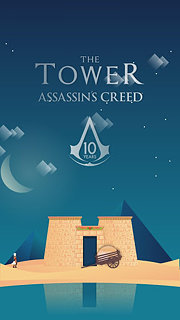 The Tower Assassin's Creed - snímek obrazovky