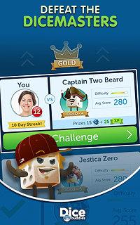 Dice With Buddies™ - snímek obrazovky