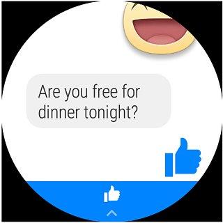 Messenger - snímek obrazovky