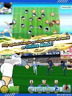 Captain Tsubasa: Dream Team - snímek obrazovky