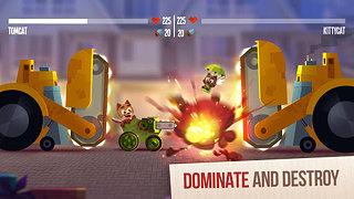 CATS: Crash Arena Turbo Stars - snímek obrazovky