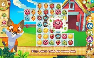 Farm Heroes Saga - snímek obrazovky