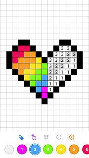 No.Draw - Number Sandbox Coloring 2018 - snímek obrazovky