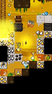 Pocket Mine 3 - snímek obrazovky