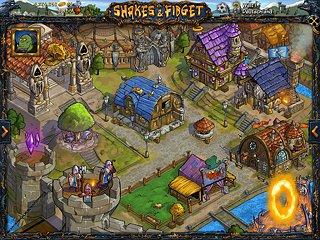 Shakes and Fidget - snímek obrazovky
