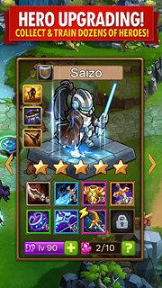 Magic Rush: Heroes - snímek obrazovky