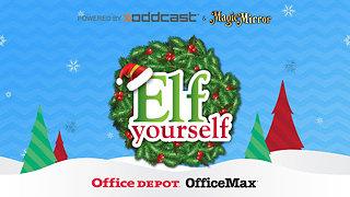 ElfYourself by Office Depot - snímek obrazovky