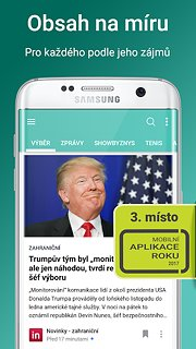 Tapito: news you want to read - snímek obrazovky