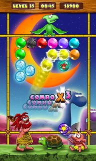 Jurassic Bubbles 2 - snímek obrazovky
